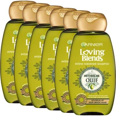Garnier Loving Blends Olijf Shampoo Voordeelverpakking Voor