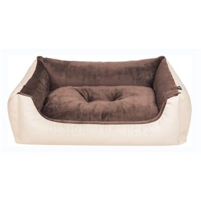 Foeiii hondenmand soft beige