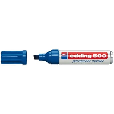 edding 500 schuin blauw
