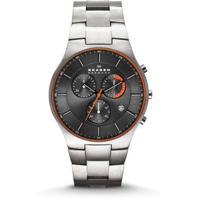 Skagen SKW6076 Horloge Staal zilver