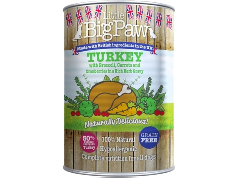 Little Big Paw Naturally Delicous 12x390 Gr