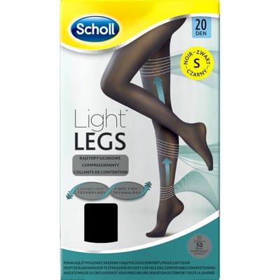 Scholl Light Legs 20 Denier Panty Maat S Zwart