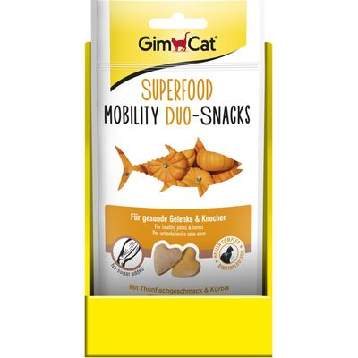 GimCat Superfood Duo - Snacks Mobility 40 gr