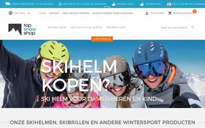 Topsnowshop website