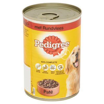 Pedigree Blik Adult Pate Rundvlees 800 gr