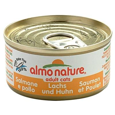 Almo Nature Cat Zalm Kip 70 gr