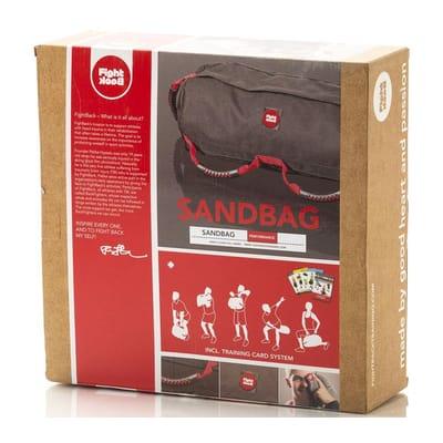 Fight Back Sandbag met Work-Out Cards