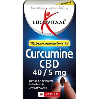 Lucovitaal Curcumine CBD 30 capsules