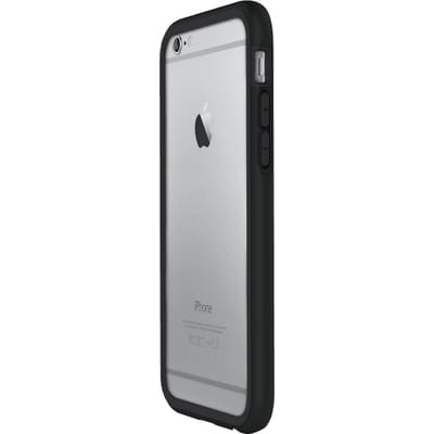 Rhinoshield Crash Guard Bumper Charcoal Black voor Apple iPhone 6 6s