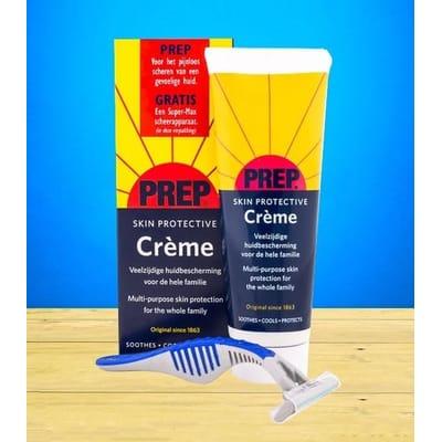 Skin creme tube actie