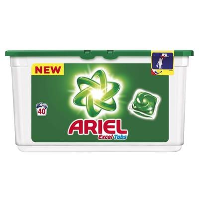 Ariel Excel Tabs 40 Wasmiddel