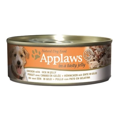 Applaws dog blik jelly chicken duck