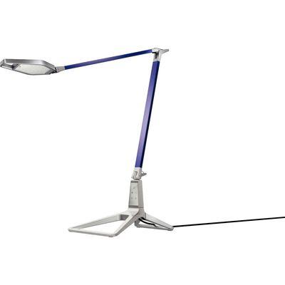 Leitz Style Smart LED Bureaulamp Titanium Blauw