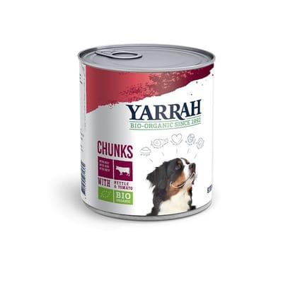 Yarrah brokjes in saus en tomaat hondenvoer 820 gr