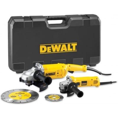 DWE492SDT 230mm haakse slijper 125mm in koffer
