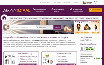Lampentotaal website