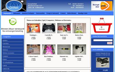 Easyonnet website