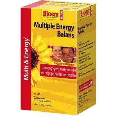 Multiple energy balans