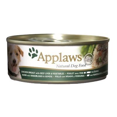 Applaws dog blik chicken beef liver