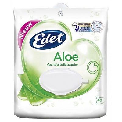 Edet Vochtig Toiletpapier Aloe