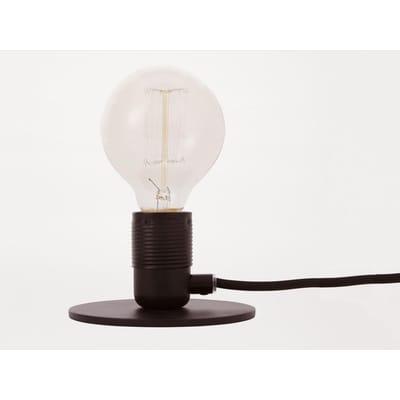 E27 Tafellamp Zwart