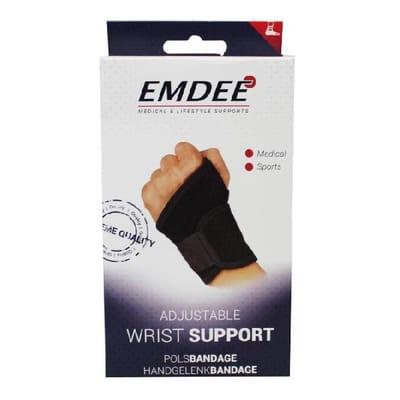 Emdee pols support zwart