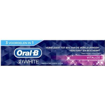 Tandpasta 3DWhite Vitalize 75 ml