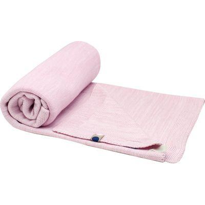 Snoozebaby ledikantdeken Powder Pink