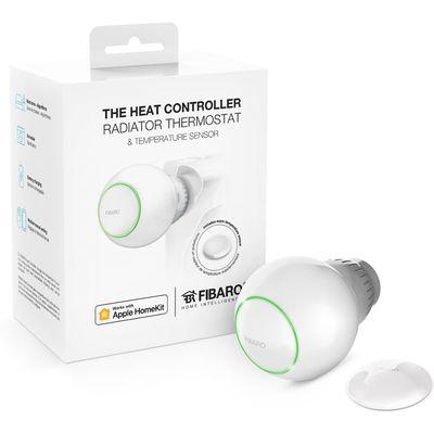 FIBARO Heat Controller werkt met Apple HomeKit Slimme radiatorknop externe sensor Starterpack