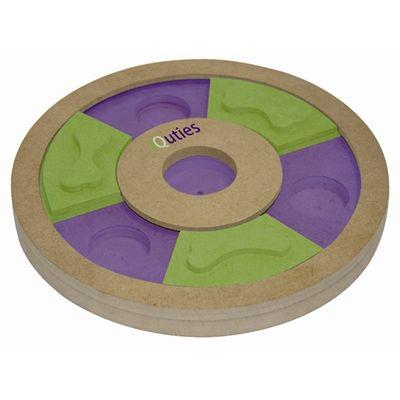 Iquties treat wheel hondenspel