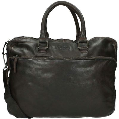 DSTRCT Pearl Street Workingbag inch victor brown