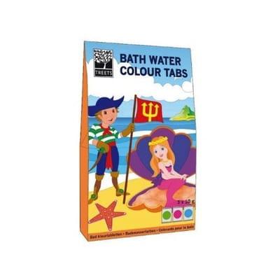 Bath water colour tabs