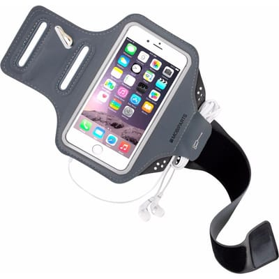 Mobiparts Comfort Fit Sport Armband Apple iPhone 7 Black
