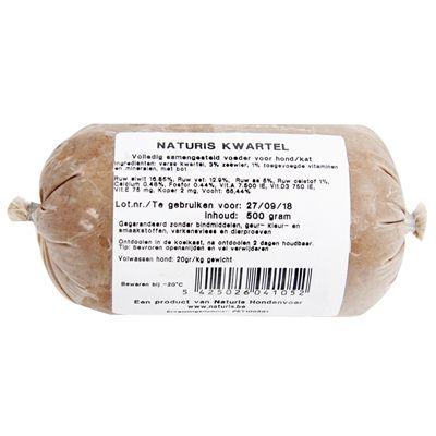 500 gr Naturis kwartel
