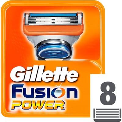 Gillette Fusion Power 8 Stuks Scheermesjes