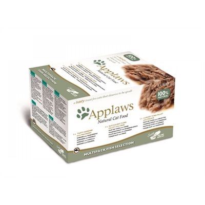 Applaws cat pots mp fish selection