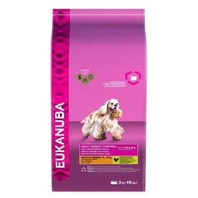 Eukanuba Dog Adult Medium Breed Kip Hondenvoer 12 kg