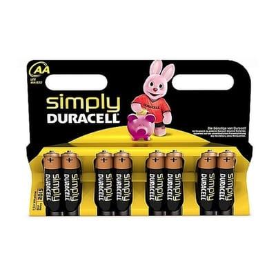 Duracell AA Simply Batterijen