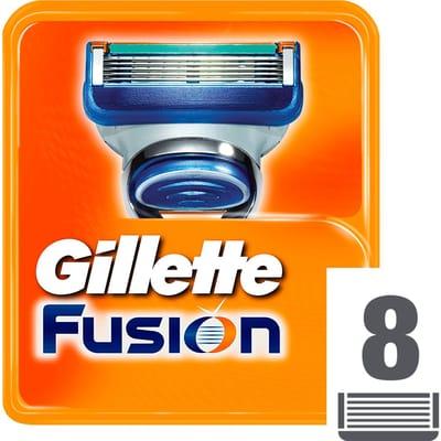Gillette Fusion 8 Stuks Scheermesjes