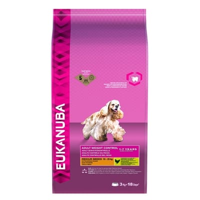 Eukanuba Dog Adult Medium Breed Kip Hondenvoer 12 kg