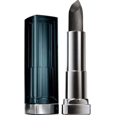 Maybelline Color Sensational Metallics 50 Gunmetal lipstick