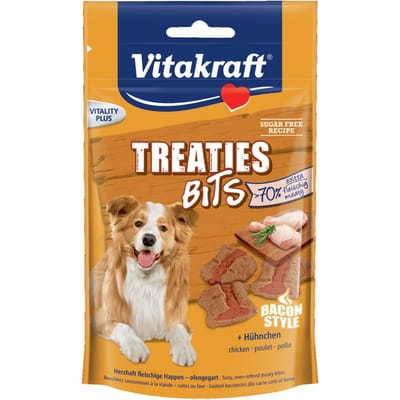 Vitakraft Treaties Bits Bacon Style Kip 120 Gr