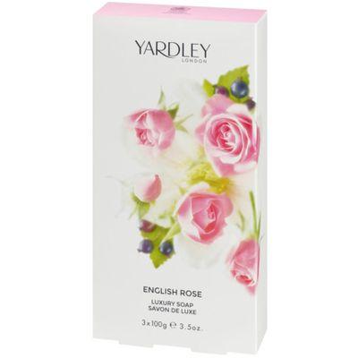 English rose zeep box 100 gram