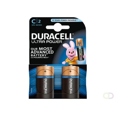 Duracell Ultra Power C Batterij