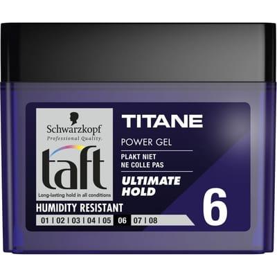 Taft Power Gel Titane Cube