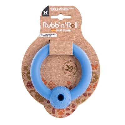 Rubb'n'roll ring snack blauw