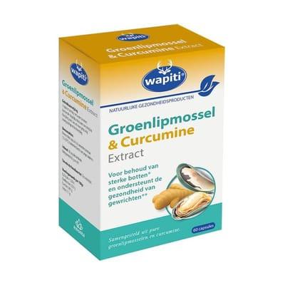 Groenlipmossel & curcuma