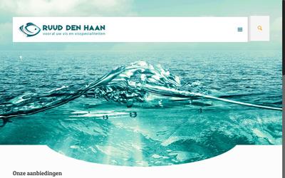 Vishandel Ruud den Haan website