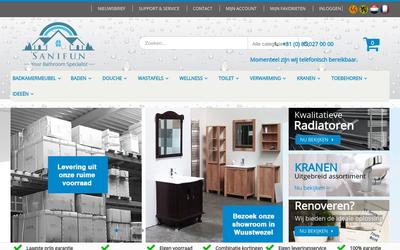 Sanifun website