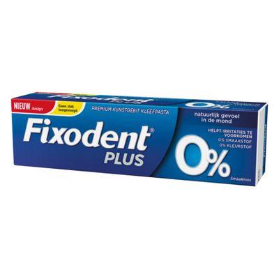 Fixodent Plus 0%